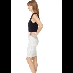 Wilfred Campage pencil skirt with side zippers